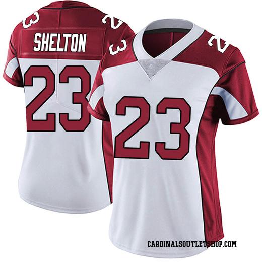 Sojourn Shelton Women's Arizona Cardinals Nike Vapor Untouchable Jersey - Limited White