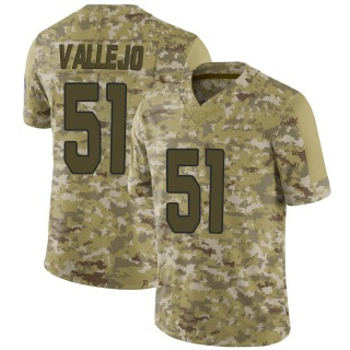 Tanner Vallejo Men's Arizona Cardinals Nike 2018 Salute to Service Jersey - Limited Camo