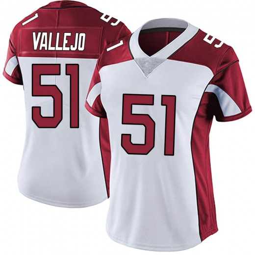 Tanner Vallejo Women's Arizona Cardinals Nike Vapor Untouchable Jersey - Limited White
