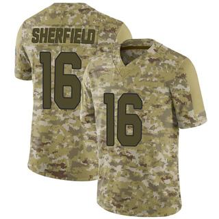 Trent Sherfield Men's Arizona Cardinals Nike 2018 Salute to Service Jersey - Limited Camo