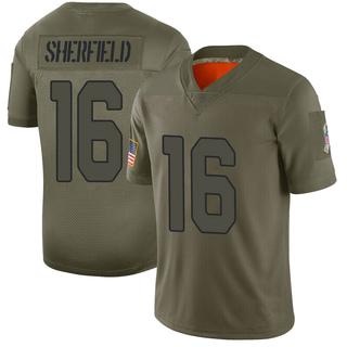 Trent Sherfield Men's Arizona Cardinals Nike 2019 Salute to Service Jersey - Limited Camo