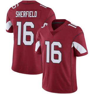 Trent Sherfield Men's Arizona Cardinals Nike Cardinal 100th Vapor Jersey - Limited