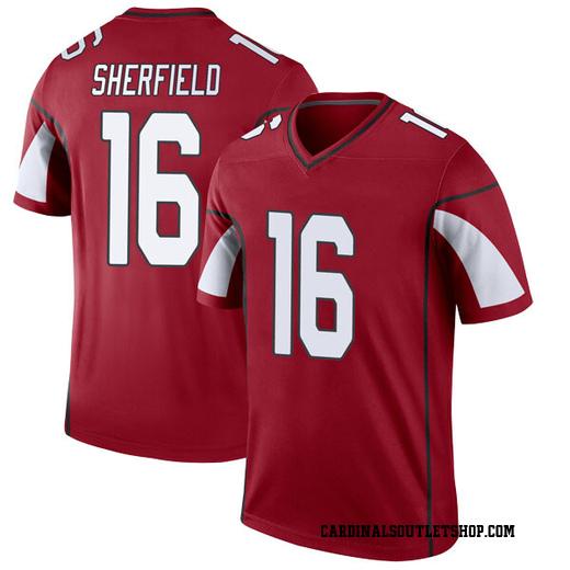 Trent Sherfield Men's Arizona Cardinals Nike Cardinal Jersey - Legend