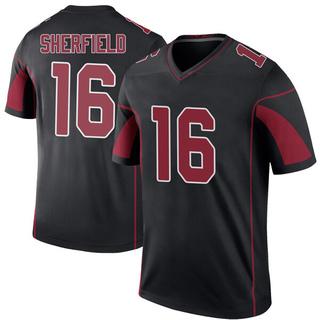 Trent Sherfield Men's Arizona Cardinals Nike Color Rush Jersey - Legend Black