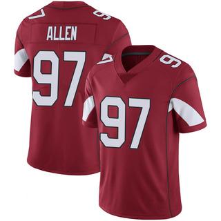 Zach Allen Men's Arizona Cardinals Nike Cardinal 100th Vapor Jersey - Limited