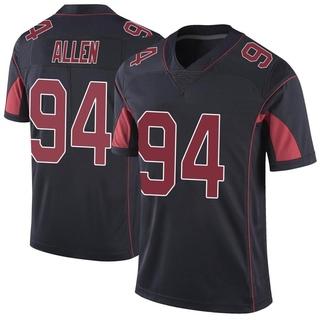 Zach Allen Men's Arizona Cardinals Color Rush Vapor Untouchable Jersey - Limited Black