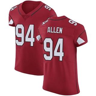 Zach Allen Men's Arizona Cardinals Team Color Vapor Untouchable Jersey - Elite Red