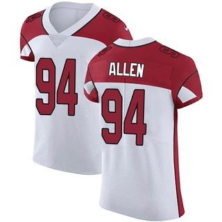Zach Allen Men's Arizona Cardinals Vapor Untouchable Jersey - Elite White