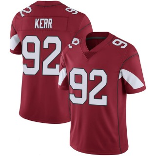 Zach Kerr Men's Arizona Cardinals Nike Cardinal 100th Vapor Jersey - Limited