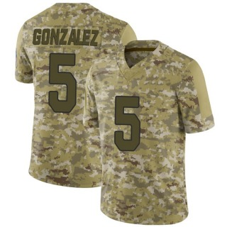 Zane Gonzalez Youth Arizona Cardinals 2018 Salute to Service Jersey - Limited Camo
