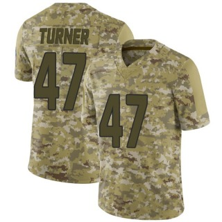Zeke Turner Men's Arizona Cardinals 2018 Salute to Service Jersey - Limited Camo
