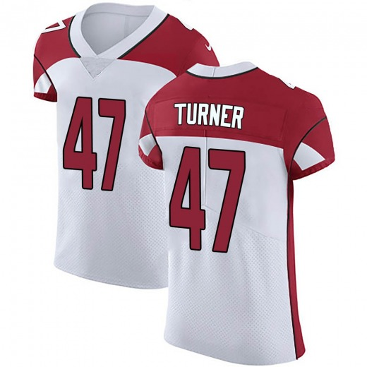 huge discount 7bdf0 ac92b Zeke Turner Men's Arizona Cardinals Nike Vapor Untouchable Jersey - Elite  White