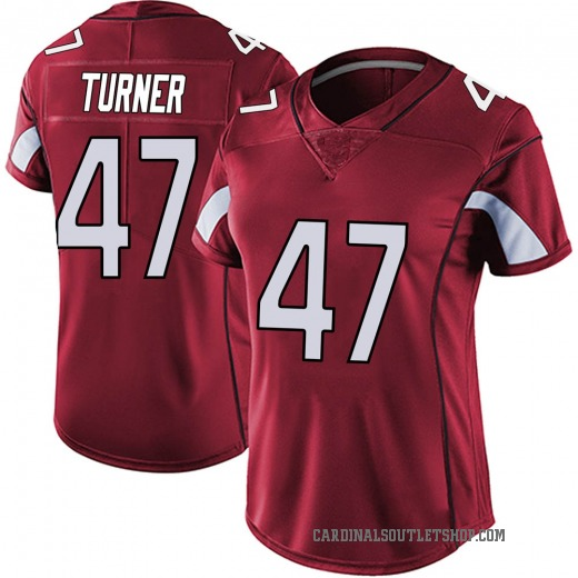 promo code 973fe 184a0 Zeke Turner Women's Arizona Cardinals Nike Vapor Team Color Untouchable  Jersey - Limited Red