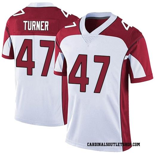 finest selection 19e06 e8e05 Zeke Turner Youth Arizona Cardinals Nike Vapor Untouchable Jersey - Limited  White